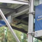 16 รถไฟฟ้ามหานคร สายสีน้ำเงิน MRTสถานีสวนจตุจักร อยู่ตามแนวพหลโยธินในสวนจตุจักร ตรงข้ามสถานีขนส่งสายเหนือ (เดิม)