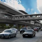 S06 รถไฟฟ้าสายสีม่วง ช่วงบางใหญ่ - บางซื่อ สถานีท่าอิฐ ระหว่างสำนักงานการเดินรถที่ 7 องค์การขนส่งมวลชนกรุงเทพ และซอยท่าอิฐ