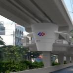 S15 รถไฟฟ้าสายสีม่วง ช่วงบางใหญ่ - บางซื่อ สถานีบางซ่อน อยู่บนถนนกรุงเทพ-นนทบุรี บริเวณหมู่บ้านตลาดบางซ่อน