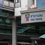 S2 สถานีรถไฟฟ้า BTS สถานีศาลาแดง ใกล้สี่แยกศาลาแดง