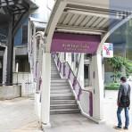S6 สถานีรถไฟฟ้า BTS สถานีสะพานตากสิน เชิงสะพานสมเด็จพระเจ้าตากสิน
